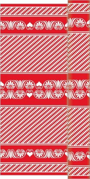 Tischdeckenrolle Bavaria in rot aus Linclass® Airlaid 120 cm x 25 m, 1 Stück