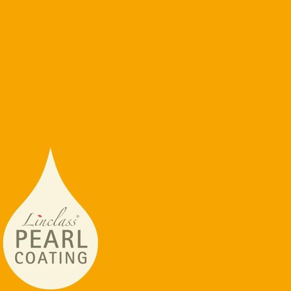 Tischdecke Curry/Orange mit Pearl Coating (wasserabweisend) 80 x 80 cm, 15 Stück