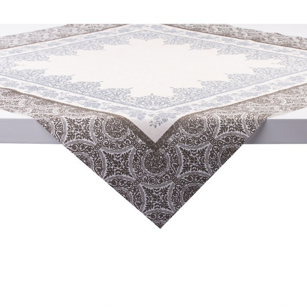 Tischdecke Madrid in graphit aus Linclass® Airlaid 80 x 80 cm, 20 Stück