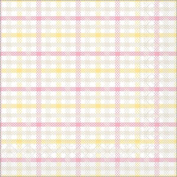 Serviette Emil in rosa aus Tissue 33 x 33 cm, 100 Stück