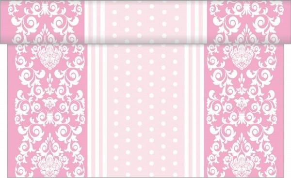 Tischläufer Bine in Rosa aus Linclass® Airlaid 40 cm x 4,80 m, 1 Stück