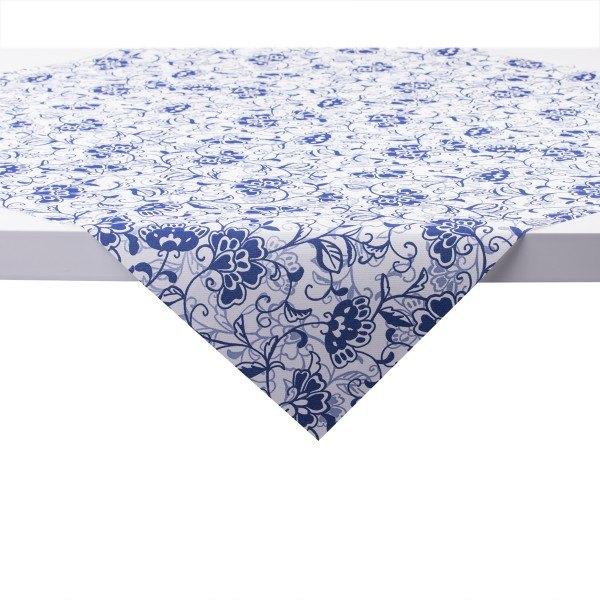 Tischdecke Liv in blau aus Linclass® Airlaid 80 x 80 cm, 20 Stück
