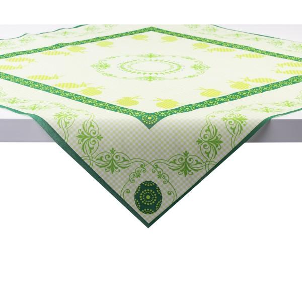 Tischdecke Rabea in Grün aus Linclass® Airlaid 80 x 80 cm, 1 Stück