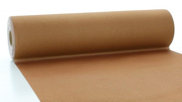 Tischläufer Bronze aus Linclass® Airlaid 40 cm x 24 m, 1 Stück