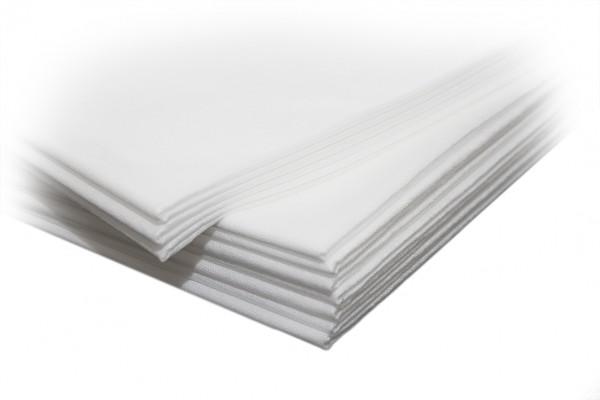 Sovie Care PP-Vlies Tücher / Laken in Weiß, 85 x 200 cm, 20 Stück