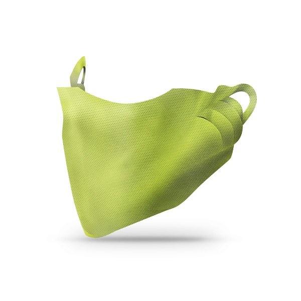 Sovie Care Einweg Behelfs- Mund- und Nasenmaske M1 in Oliv aus PP-Vlies - 100 Stück - Masken