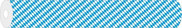 Papier-Tischdeckenrolle Bayern aus Papier 100 cm x 25 m, 1 Stück
