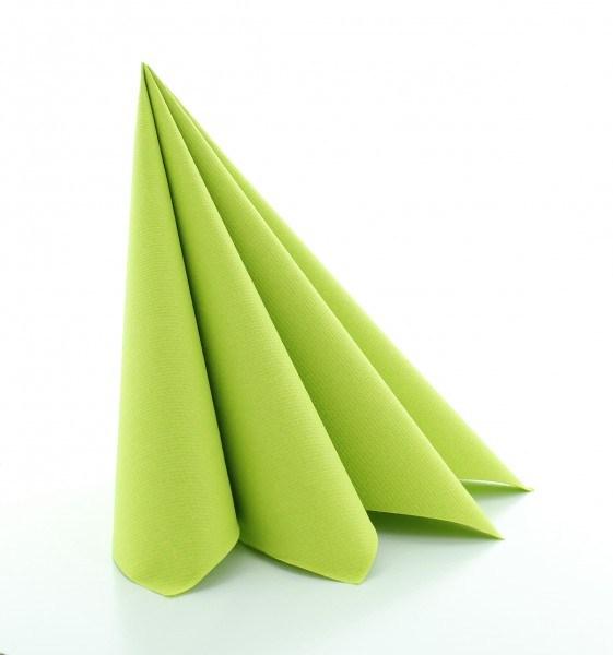 Serviette Kiwi aus Linclass® Airlaid 40 x 40 cm, 12 Stück