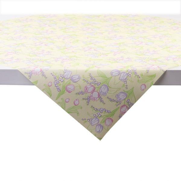 Tischdecke Conny in Creme aus Linclass® Airlaid 80 x 80 cm, 20 Stück