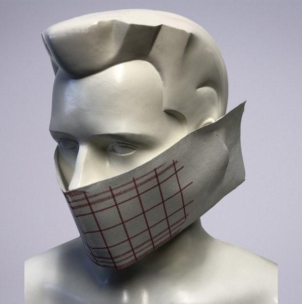 Sovie Care Einweg Behelfs- Mund- und Nasenmaske M2 Nadeem aus Linclass-Vlies - 60 Stück - Masken