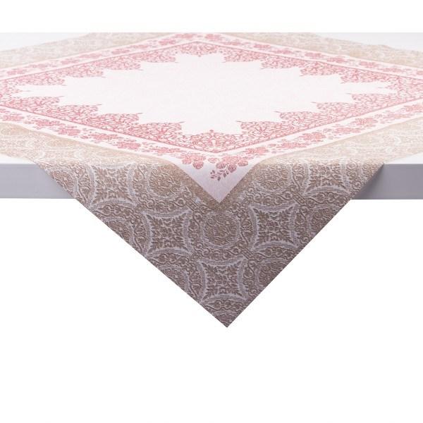 Tischdecke Madrid in Bordeaux aus Linclass® Airlaid 80 x 80 cm, 20 Stück