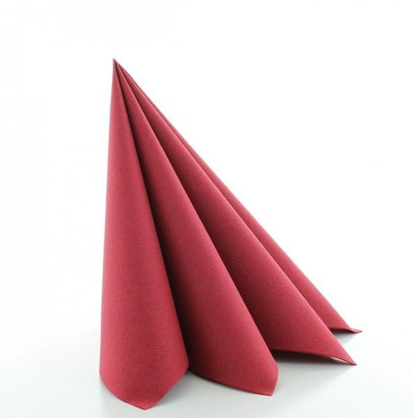 Serviette Bordeaux aus Linclass® Airlaid 40 x 40 cm, 50 Stück