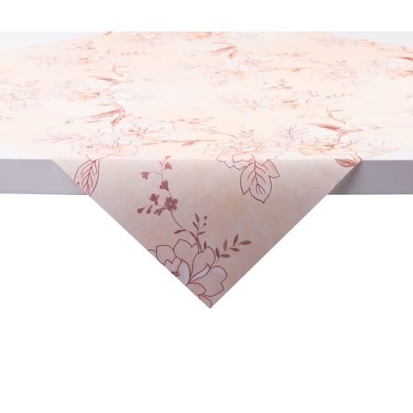 Tischdecke Maylin in Aprikot aus Linclass® Airlaid 80 x 80 cm, 20 Stück
