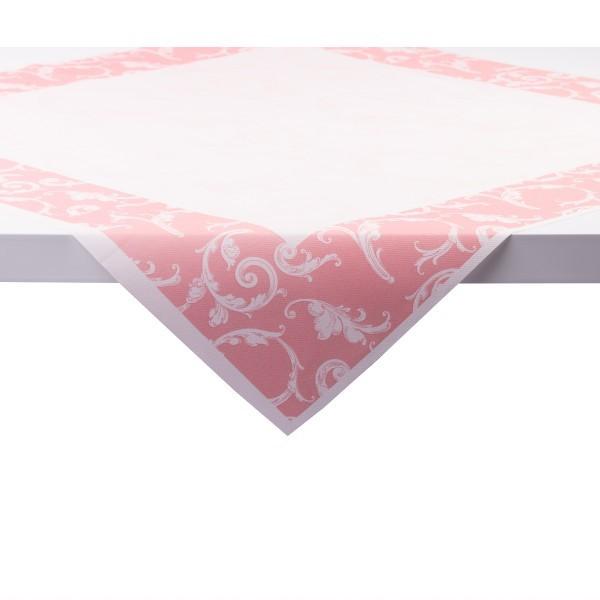 Tischdecke Romantic in Rosa aus Linclass® Airlaid 80 x 80 cm, 1 Stück
