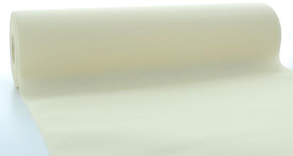 Tischläufer Creme aus Linclass® Airlaid 40 cm x 24 m, 1 Stück