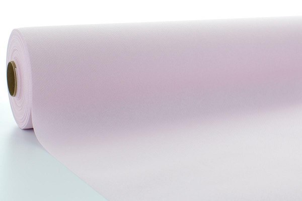 Airlaid Tischdeckenrolle Hellrosa, 80 cm x 40 m , 1 Stück