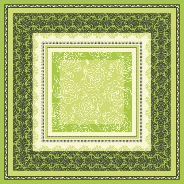 Tischdecke Thea in lime aus Linclass® Airlaid 80 x 80 cm, 20 Stück
