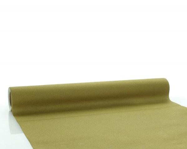 Tischläufer Gold aus Linclass® Airlaid 40 cm x 4,80 m, 1 Stück
