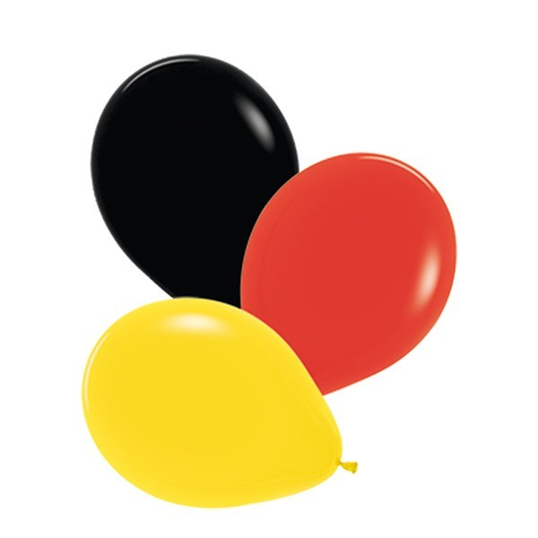Luftballons Deutschland, 30cm,12 Stück