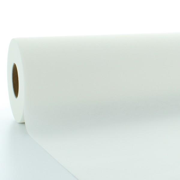 Tischdeckenrolle Weiß aus Linclass® Airlaid 120 cm x 25 m, 1 Stück