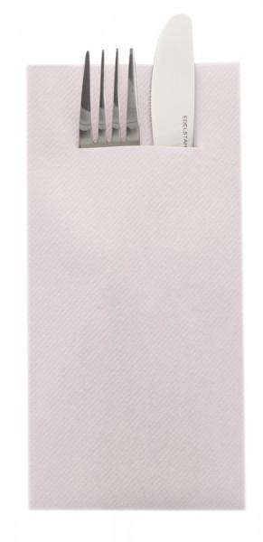 Besteckserviette Hellrosa aus Linclass® Airlaid 40 x 40 cm, 75 Stück