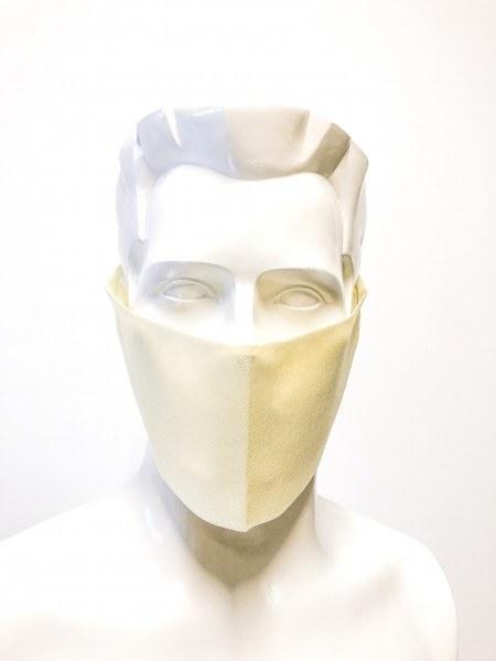 Sovie Care Einweg Behelfs- Mund- und Nasenmaske M2 in Creme aus PP-Vlies - 150 Stück - Masken