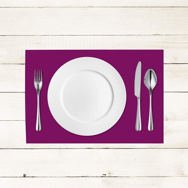 Tischset Aubergine aus Linclass® Airlaid 40 x 30 cm, 100 Stück