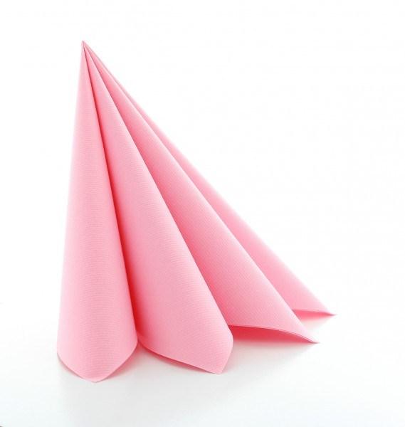 Serviette Rosa aus Linclass® Airlaid 40 x 40 cm, 50 Stück