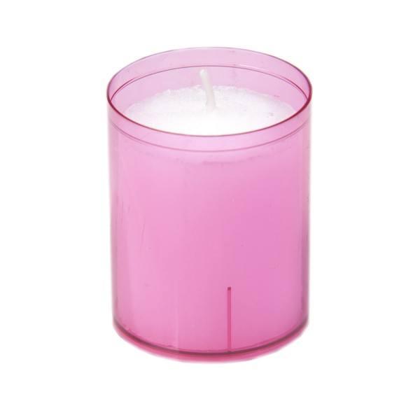Sovie® Refill Kerzen in Rosa 24 Stück im Tray