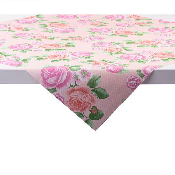 Tischdecke Rosemarie in rosa aus Linclass® Airlaid 80 x 80 cm, 20 Stück