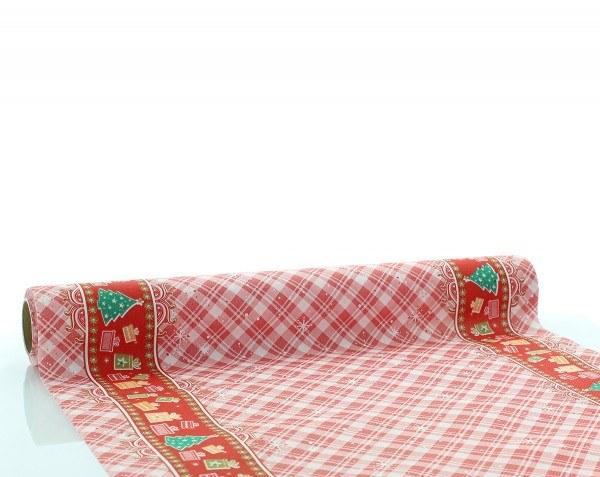 Tischläufer Joy in Rot aus Linclass® Airlaid 40cm x 4,80m, 1 Stück