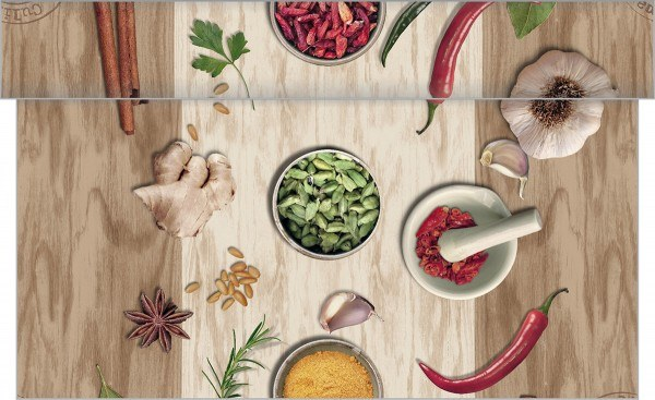 Tischläufer Spicy aus Linclass® Airlaid 40 cm x 4,80 m, 1 Stück