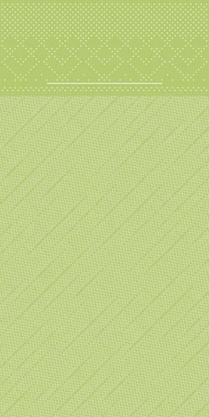 Besteckserviette Kiwi aus Tissue Deluxe® 40 x 40 cm, 100 Stück