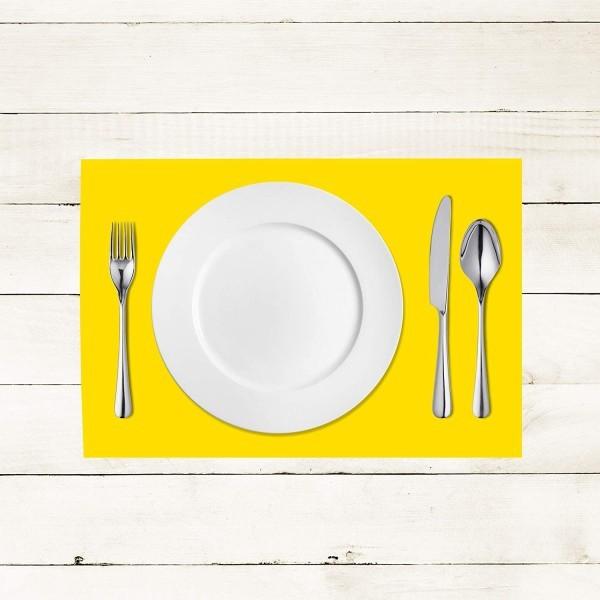 Tischset Gelb aus Linclass® Airlaid 40 x 30 cm, 100 Stück