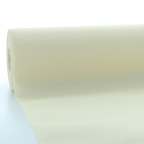 Tischdeckenrolle Creme aus Linclass® Airlaid 120 cm x 25 m, 1 Stück