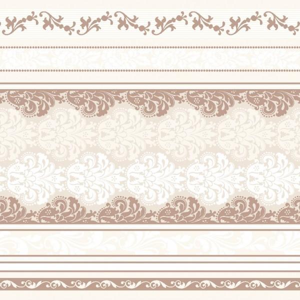 Serviette Marius in Braun aus Linclass® Airlaid 40 x 40 cm, 12 Stück