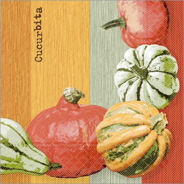 Serviette Britta in terrakotta aus Tissue Deluxe®, 4-lagig, 40 x 40 cm, 50 Stück