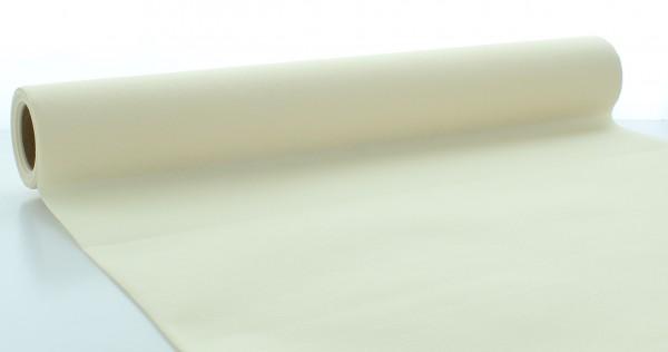 Tischläufer Creme aus Linclass® Airlaid 40 cm x 4,80 m, 1 Stück