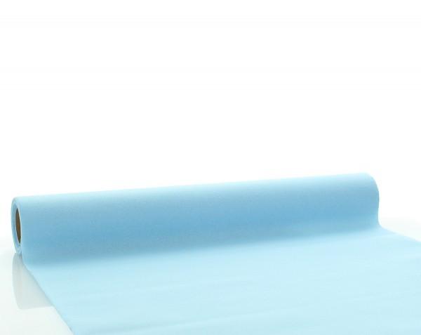 Tischläufer Hellblau aus Linclass® Airlaid 40 cm x 4,80 m, 1 Stück