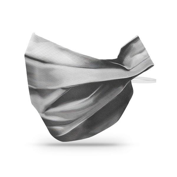 Sovie Care Einweg Behelfs- Mund- und Nasenmaske M3 in Grau aus PP-Vlies - 10 Stück - Masken