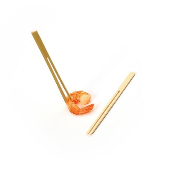 Spieße aus Bambus, Stimmgabel, 120 mm, 250 Stück