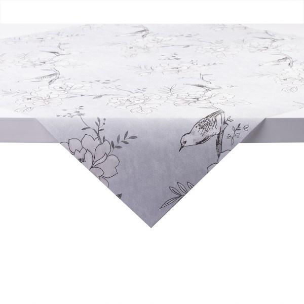 Tischdecke Maylin in hellgrau aus Linclass® Airlaid 80 x 80 cm, 20 Stück