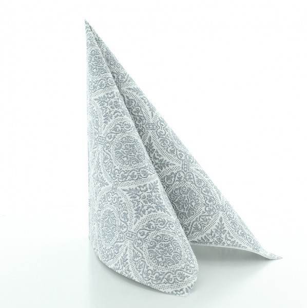 Serviette Madrid-Classic in graphit aus Linclass® Airlaid 40 x 40 cm, 50 Stück