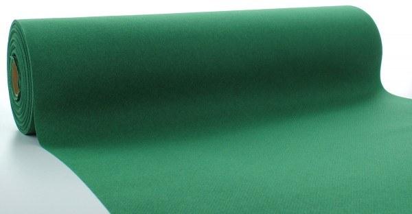 Tischläufer Dunkelgrün aus Linclass® Airlaid 40 cm x 24 m, 1 Stück