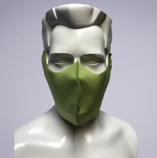 Sovie Care Einweg Behelfs- Mund- und Nasenmaske M4 in Hellgrün aus PP-Vlies - 25 Stück - Masken