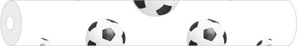 Papier-Tischdeckenrolle Fussball aus Papier 100 cm x 25 m, 1 Stück