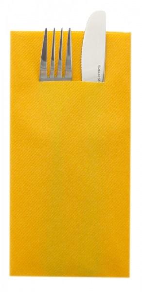 Besteckserviette Curry/Orange aus Linclass® Airlaid 40 x 40 cm, 75 Stück
