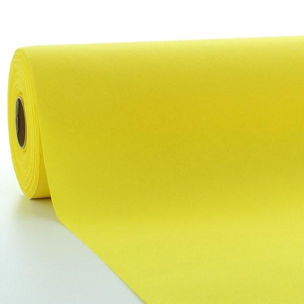 Tischdeckenrolle Gelb aus Linclass® Airlaid 120 cm x 25 m, 1 Stück