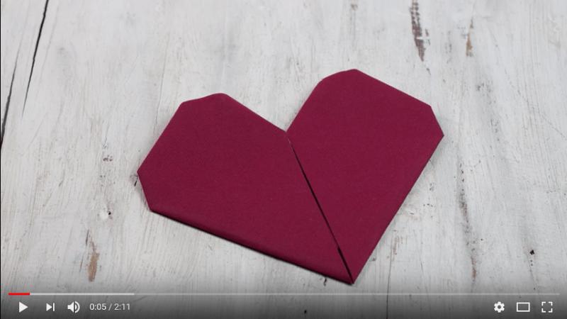 Servietten falten: 24 VIDEO Anleitungen für verschiedene Anlässe