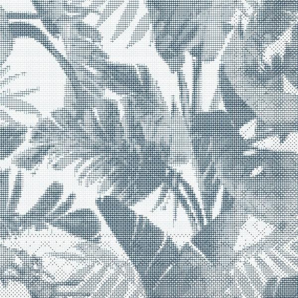 Serviette Magnus in Blaugrau aus Tissue 40 x 40 cm, 100 Stück